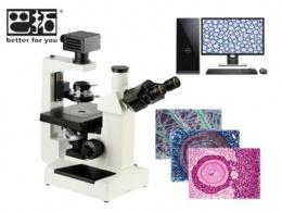 XSP-17C 三目倒置生物顯微鏡