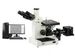 4XC 倒置金相显微镜
