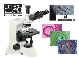 BPH-40 无限远三目相衬显微镜