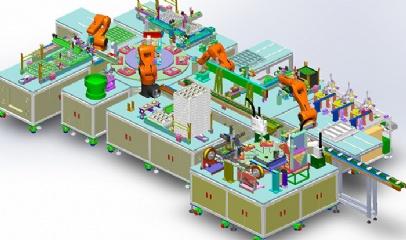 鼠标检测生产线